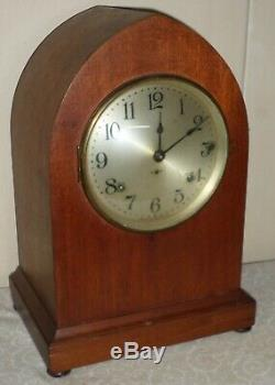 Nice Seth Thomas Antique 8 Day Westminster Sonora Chime Gothic Parlor Clock