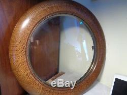 Original-Antique-Seth Thomas #2-Oak-Wall Clock Top Door-Ca. 1900-Mint! -#T76
