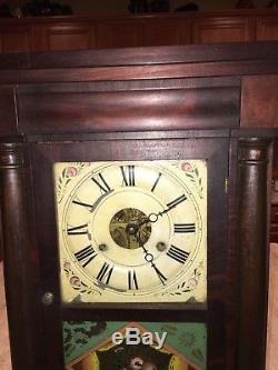 Original Antique Seth Thomas Half Column Clock Weight