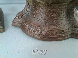 Pair of metal bronzed spelter figurines DON CESAR AND DON JUAN
