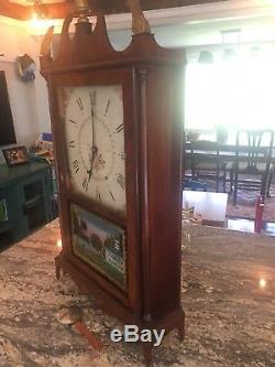 Rare 1820s Seth Thomas Pillar Clock