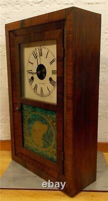 Rare Antique Miniature Seth Thomas Plymouth OG 30hr Mantle Clock Runs