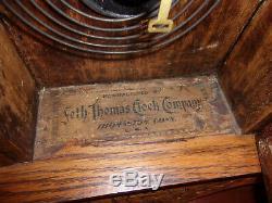 Rare Antique Seth Thomas Giant Series No. #1 Kitchen Clock