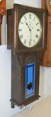 Rare Restored Seth Thomas Regulator 25-1907 Railroad Regulator Antique Clock