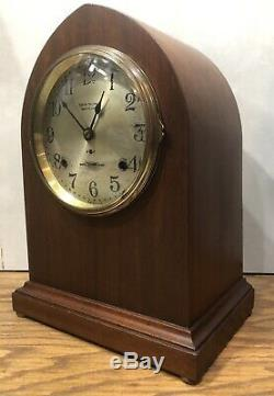Rare Seth Thomas 5 Bell Sonora Chime Westminster Chime Table Shelf Mantle Clock
