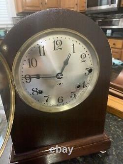 Restored Antique 1920 Seth Thomas Chime Clock No. 11 Westminster Sonora Design
