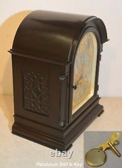 Restored Rare & Grand Antique Seth Thomas Chime Clock No. 73 1921 In Mahogany