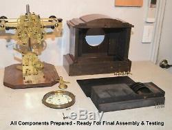 Restored & Rare Seth Thomas 4 Bell Sonora No. 1 1910 Antique Chime Clock