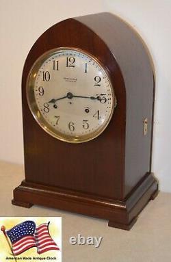 Restored Seth Thomas Antique Grand Gothic Sonora Bells Chime Clock No. 16-1911