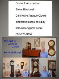 Restored Seth Thomas Antique Sonora 2 1911 Chime Clock With Deep Toned Bells