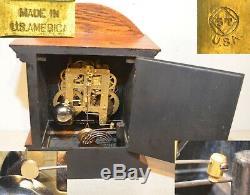 Restored Seth Thomas Kent 1905 Fine & Rare Antique City Series Cabinet Clock