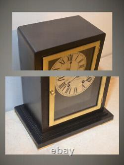 Restored Seth Thomas Navarre 1928 Art Deco Period Antique Cabinet Clock