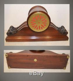 Restored Seth Thomas Rare Premium Tambour-1915 Antique Time & Strike Clock