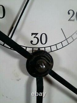 SETH THOMAS 30 Day Office Gallery Lobby Regulator Wall Clock Ticks Complete