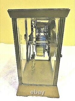 SETH THOMAS CRYSTAL REGULATOR MODEL EMPIRE No. 302 1913 PERIOD