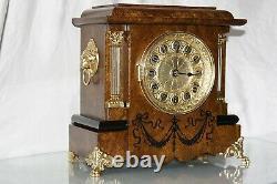 SETH THOMAS Mantel Antique Clock c/1896 Totally RESTORED