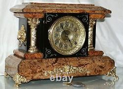 SETH THOMAS Mantel Antique Clock c/1897 D-APRIL Totally RESTORED