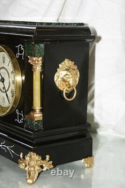 SETH THOMAS Mantel Antique Clock c/1900 A-January Totally RESTORED -ARNO