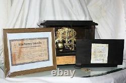 SETH THOMAS Mantel Antique Clock c/1900-January Totally RESTORED