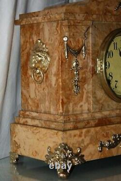SETH THOMAS Mantel Antique Clock c/1900-January Totally RESTORED -ARNO