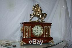 SETH THOMAS Mantel Antique Clock c/1901-Beatiful- Totally RESTORED