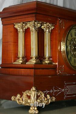 SETH THOMAS Mantel Antique Clock c/1904 C Model CHANDOS Totally RESTORED
