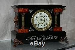 SETH THOMAS Mantel Antique Clock c/1904- Model SPARTA Totally RESTORED