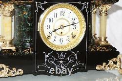 SETH THOMAS Mantel Antique Clock c/1906- FULLY RESTORED -Model No 32