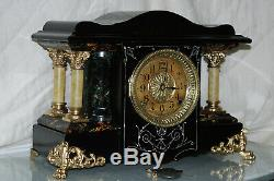 SETH THOMAS Mantel Antique Clock c/1906- FULLY RESTORED -Model SHASTA