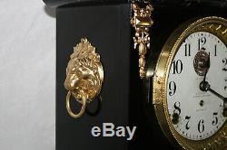 SETH THOMAS Mantel Antique Clock c/1909- RESTORED -ALARM