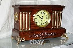 SETH THOMAS Mantel Antique Clock c/1916 Totally Restored