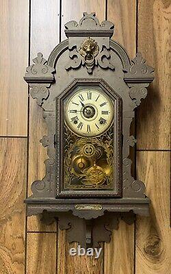 SETH THOMAS QUEEN BEE WALL KITCHEN CLOCK 8-Day Half Hour Strike