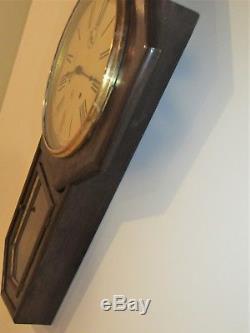 SETH THOMAS WORLD LONG DROP Wall Clock Ca 1880's