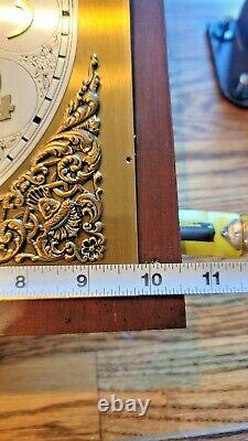 Set Thomas Grandfather Clock Kit Dial Movement Weights Pendulum Chimes Chains