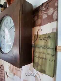 Seth Thomas 30 Day Hudson Wall Clock