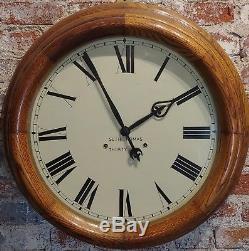 Seth Thomas 30 days -Fabulous 24 Oak Gallery Clock-c. 1900