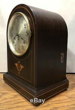 Seth Thomas 4 Rod Sonora Chime Clock No. 61 Mantle Table Bracket Westminster