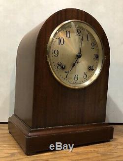 Seth Thomas 4 Rod Sonora Chime Mantle Table Bracket Shelf Clock