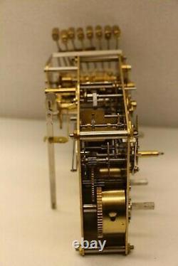 Seth Thomas 497218 Now 1051-030 34cm Hermle Triple Chime 8 Hammer Clock Movement