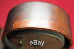 Seth Thomas 8-Day Automatic Alarm Mantel Clock Vintage Parts/Repair
