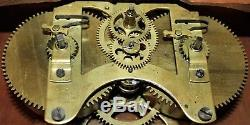Seth Thomas 8 Day Lever Clock Dodecagan Library Office Wall Clock