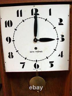 Seth Thomas 8 day (Time Only) Wall Clock