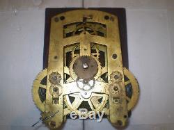 Seth Thomas 86T Gallery Clock Movement Parts / Repair