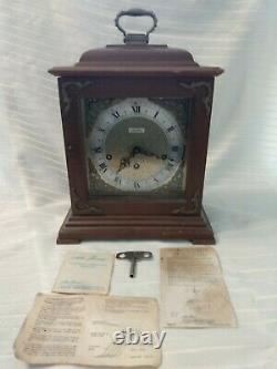 Seth Thomas 8Day Legacy A 403-001 Mantel Carriage Clock Westminster Chime