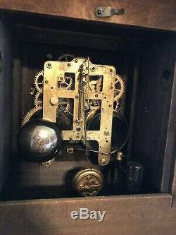 Seth Thomas Adamantine Authentic Clock 1880