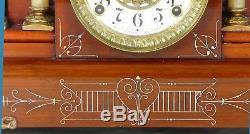 Seth Thomas Adamantine Chandos Mantel Clock circa 1904 Completely Overhauled