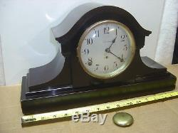 Seth Thomas Adamantine Mantel Mantle Clock Tambor Style, 89 AL, Project Clock