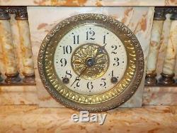 Seth Thomas Antique Adamantine Mantel / Shelf Clock For Restoration