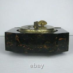 Seth Thomas Antique Chunk Bakelite Catalin Desk Clock Art Deco NOT WORKING 20s