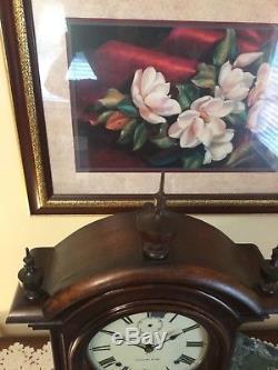 Seth Thomas Antique Fashion # 3 Star of Texas clock